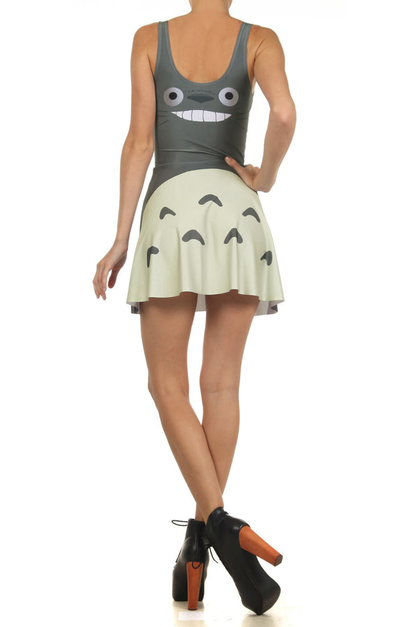 Totoro Skater Dress - POPRAGEOUS  - 4