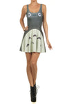 Totoro Skater Dress - POPRAGEOUS  - 1
