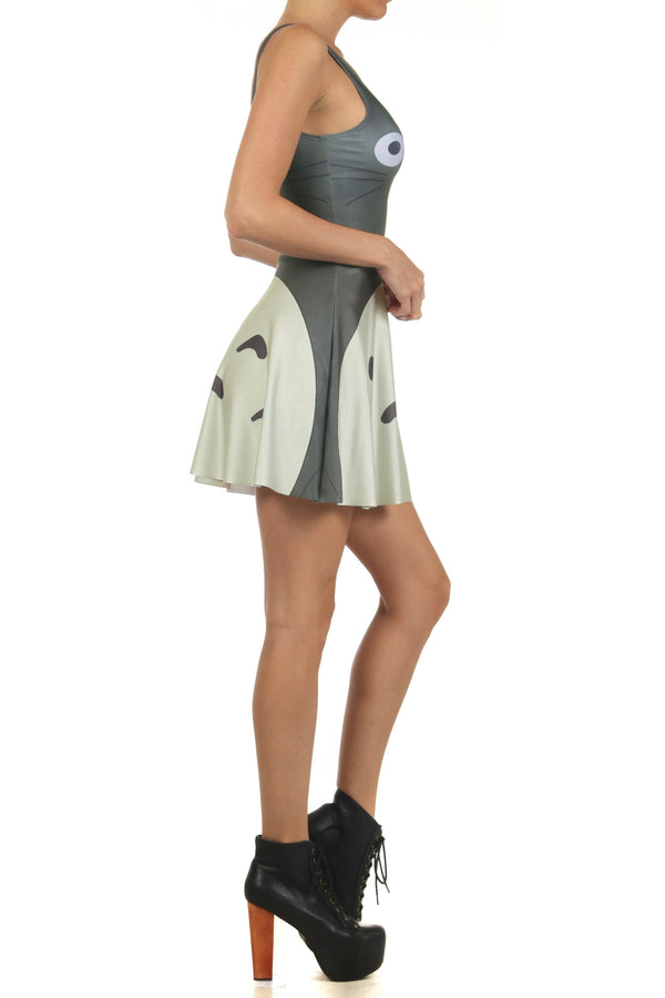 Totoro Skater Dress - POPRAGEOUS  - 3