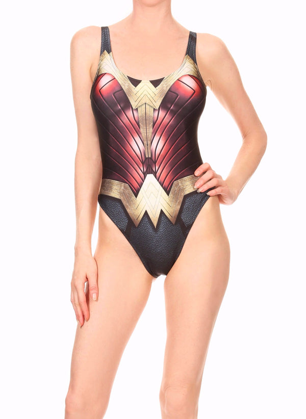 "Wondie Warrior  ""The Pam"" Onesie Swim"
