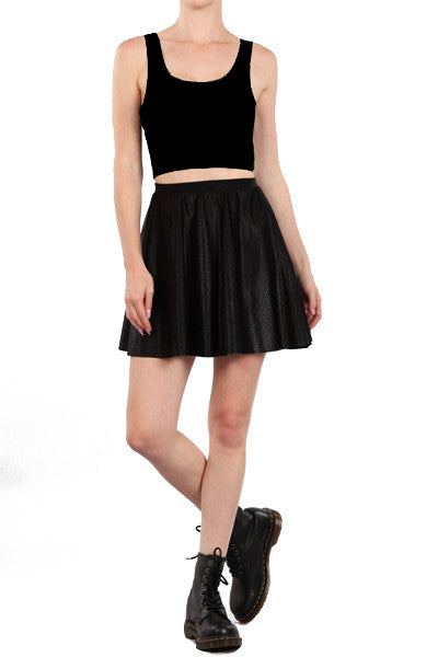 Anaconda Skater Skirt - POPRAGEOUS  - 3