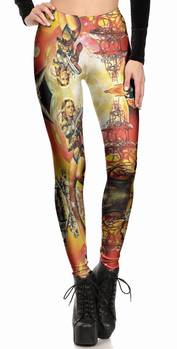 Barbarella Leggings - POPRAGEOUS  - 1