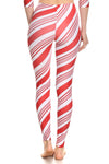 Candy Cane Leggings - POPRAGEOUS  - 4