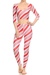 Candy Cane Leggings - POPRAGEOUS  - 5