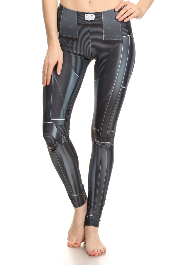 Dark Robotic Leggings - POPRAGEOUS  - 1