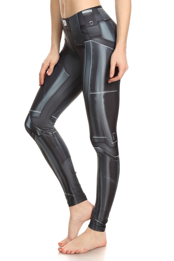 Dark Robotic Leggings - POPRAGEOUS  - 3
