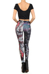 Rask Opticon: Harley Quinn Leggings - POPRAGEOUS  - 4