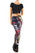 Rask Opticon: Harley Quinn Leggings