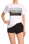 Hollyweed Relaxed Tee - POPRAGEOUS  - 1