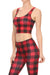 Lumberjack Crop Top