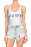 New York Baseball Bodysuit - POPRAGEOUS  - 1