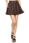 MW x POP Peach Emoji Skater Skirt