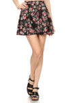 MW x POP Petals Skater Skirt