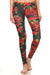 Poinsettia Leggings