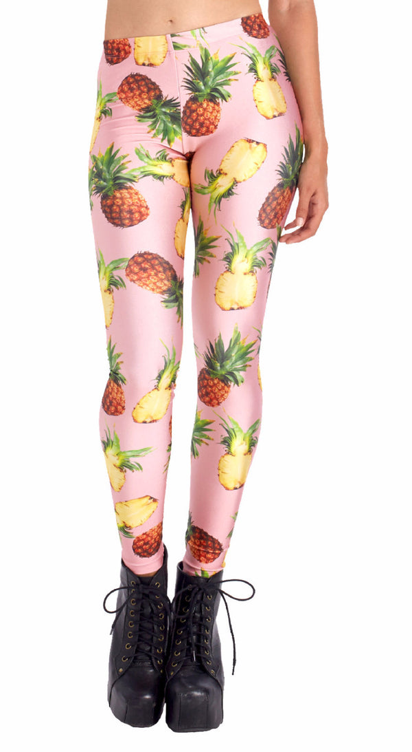 Pineapple Leggings - POPRAGEOUS  - 1