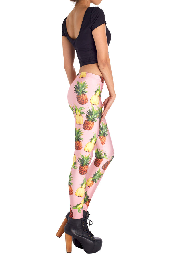 Pineapple Leggings - POPRAGEOUS  - 3