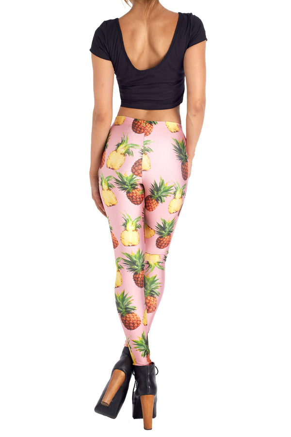 Pineapple Leggings - POPRAGEOUS  - 4
