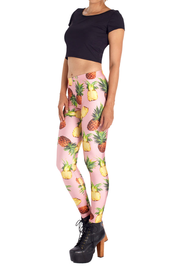 Pineapple Leggings - POPRAGEOUS  - 2