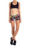 Brussel Floral Itty Bitty Shorts - POPRAGEOUS  - 1