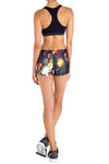 Brussel Floral Itty Bitty Shorts - POPRAGEOUS  - 4