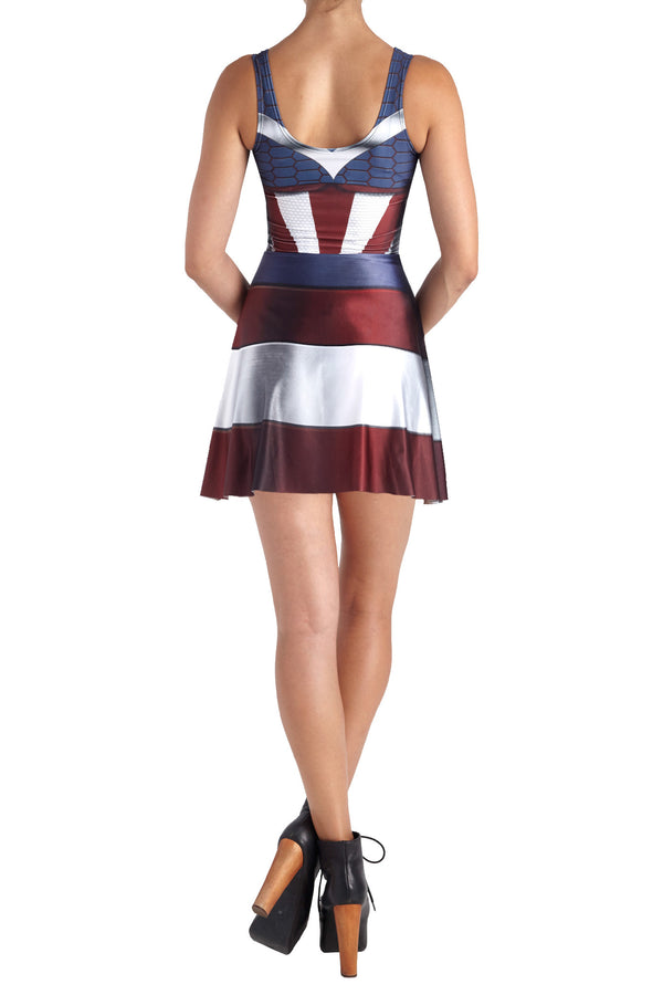 Murica Skater Dress - POPRAGEOUS  - 4
