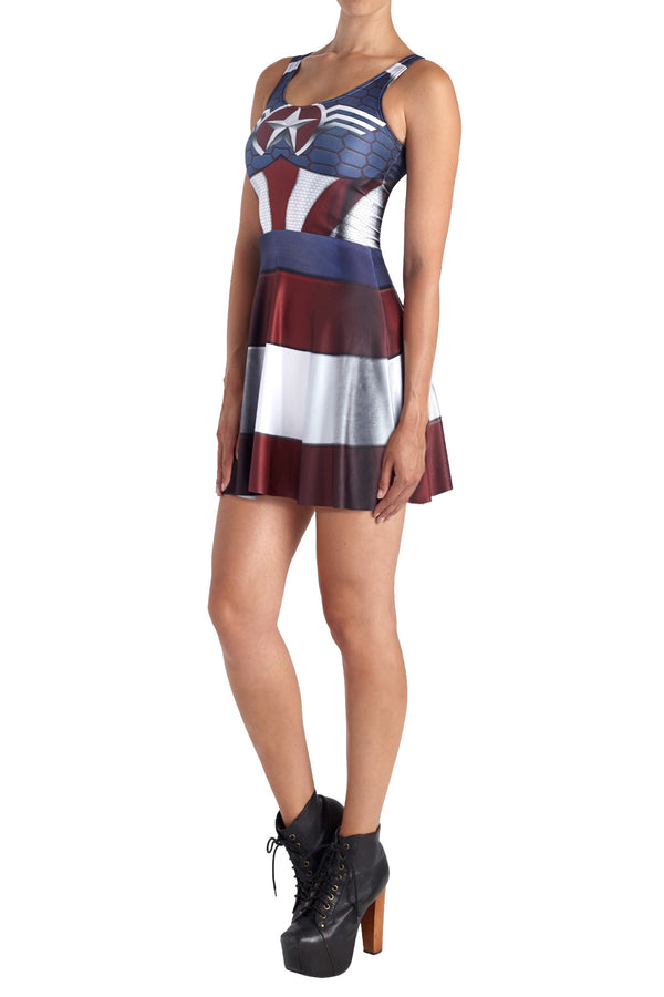 Murica Skater Dress - POPRAGEOUS  - 2