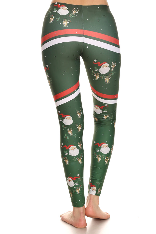 Sporty Santa Leggings - POPRAGEOUS  - 6