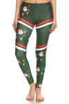 Sporty Santa Leggings - POPRAGEOUS  - 3