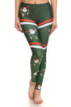 Sporty Santa Leggings - POPRAGEOUS  - 1