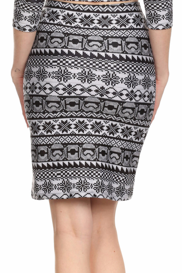 Trooper Fair Isle Ariel Skirt - POPRAGEOUS  - 5