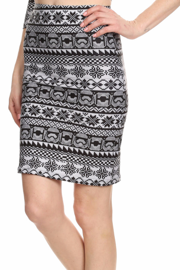 Trooper Fair Isle Ariel Skirt - POPRAGEOUS  - 3