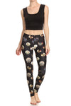 Vintage Turkey Leggings - Black - POPRAGEOUS  - 5