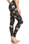 Vintage Turkey Leggings - Black - POPRAGEOUS  - 2