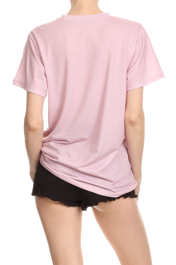 Women Need More Sleep Relaxed Tee - Sherbet