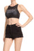 Women Need More Sleep Sporty Crop Top - Black