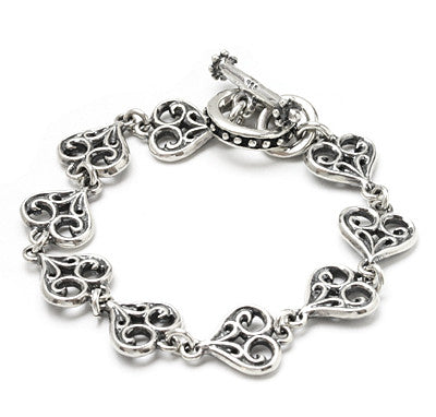 SMALL ALLEGRA HEART BRACELET