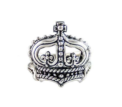 ELIZABETHAN CROWN RING