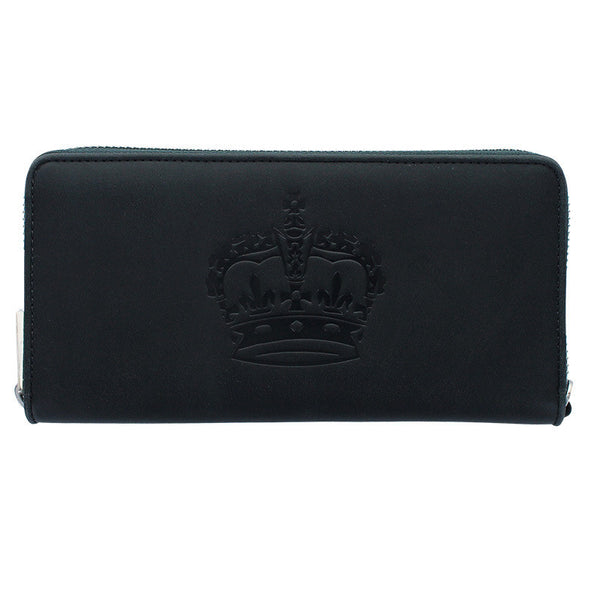 ROYAL ORDER LEATHER ZIP WALLET