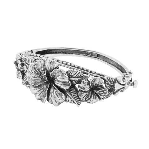 MULTIPLE HIBISCUS BANGLE