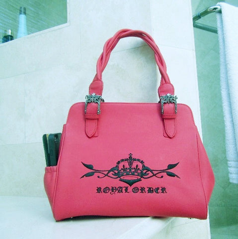 ROYAL ORDER LEATHER HANDBAG