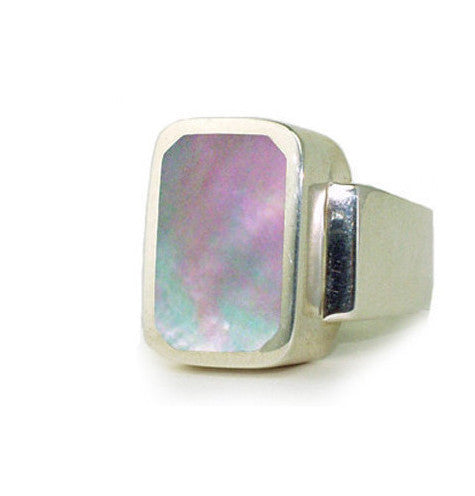 BRANDO RING w/ MOTHER OF PEARL