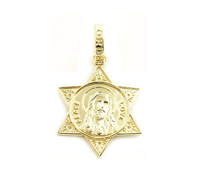 LOVE & PEACE STAR PENDANT