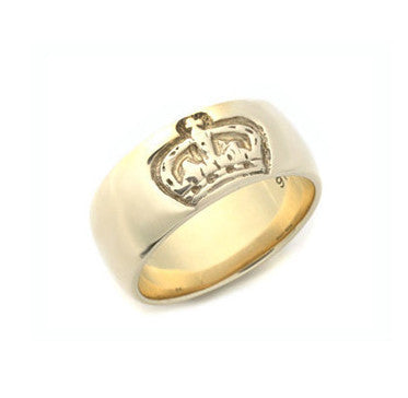 ROYAL CROWN BAND RING