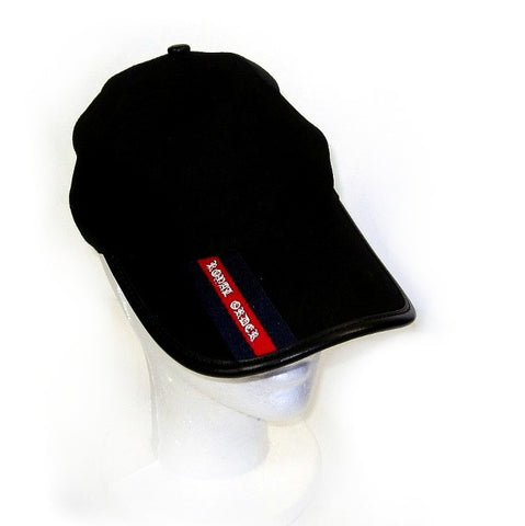 ROYAL ORDER BASEBALL CAP AND LEATHER EDGE w/ RED STRIPE