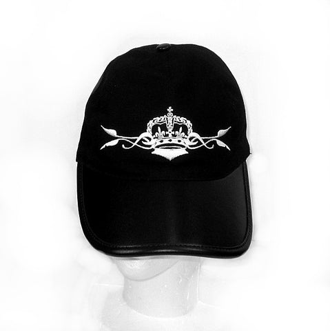 ROYAL ORDER BASEBALL CAP AND LEATHER BRIM w/ CROWN & VINE