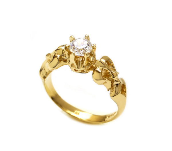 CELESTE RING w/ 1 DIAMOND