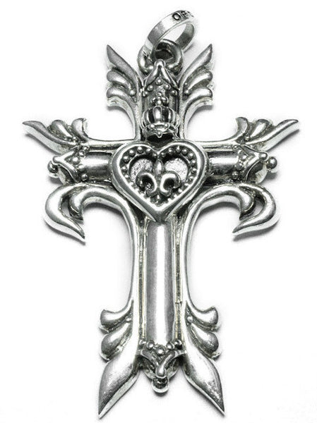 MARGUERITE CROSS PENDANT