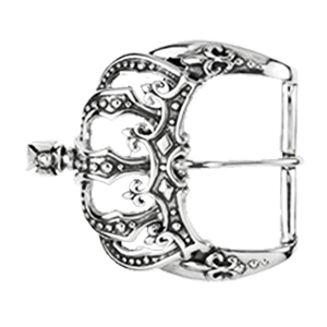CROWN BELT BUCKLE