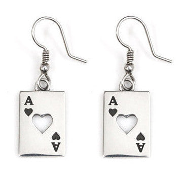ACE OF HEARTS EARRINGS