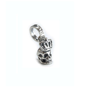 SKULL w/ CROWN PENDANT